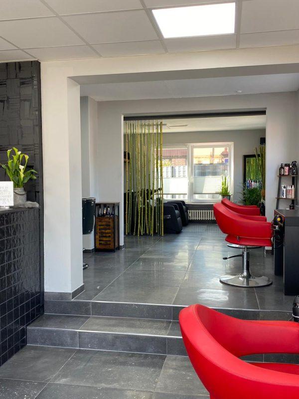 Haircut Bergen Salon Innen Haare Eingang
