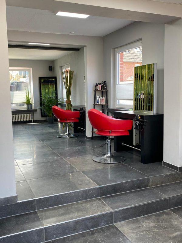 Haircut Bergen Salon Innen Kunden